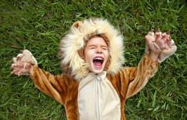 Lion child
