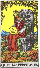 The Daily Draw: Queen ofPentacles