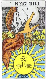 The Daily Draw: The Sun, Reversed