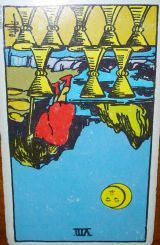 The Daily Draw: Eight of Cups, Reversed