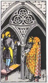 The Daily Draw: Three ofPentacles