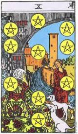 The Daily Draw: Ten of Pentacles
