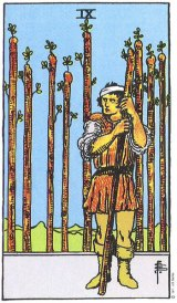 The Daily Draw: Nine of Wands
