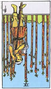 Nine of Wands, Reversed