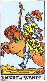 The Daily Draw: Knight of Wands