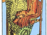 The Daily Draw: King of Wands,Reversed: