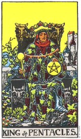 The Daily Draw: King of Pentacles