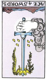 The Daily Draw: Ace of Swords Reversed