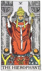 The Daily Draw: The Hierophant