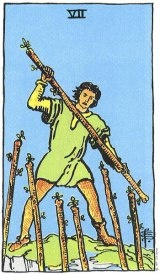 The Daily Draw: Seven of Wands