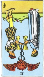 Two of Cups Reversed