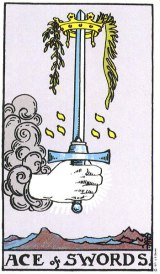 The Daily Draw: Ace of Swords