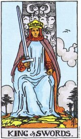 The Daily Draw: King of Swords