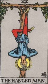 The Daily Draw: The Hanged Man