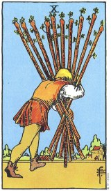 The Daily Draw: Ten of Wands