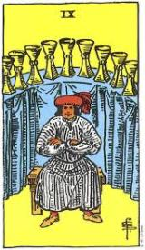 The Daily Draw: Nine of Cups