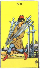 The Daily Draw: Seven of Swords