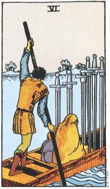 The Daily Draw: Six of Swords