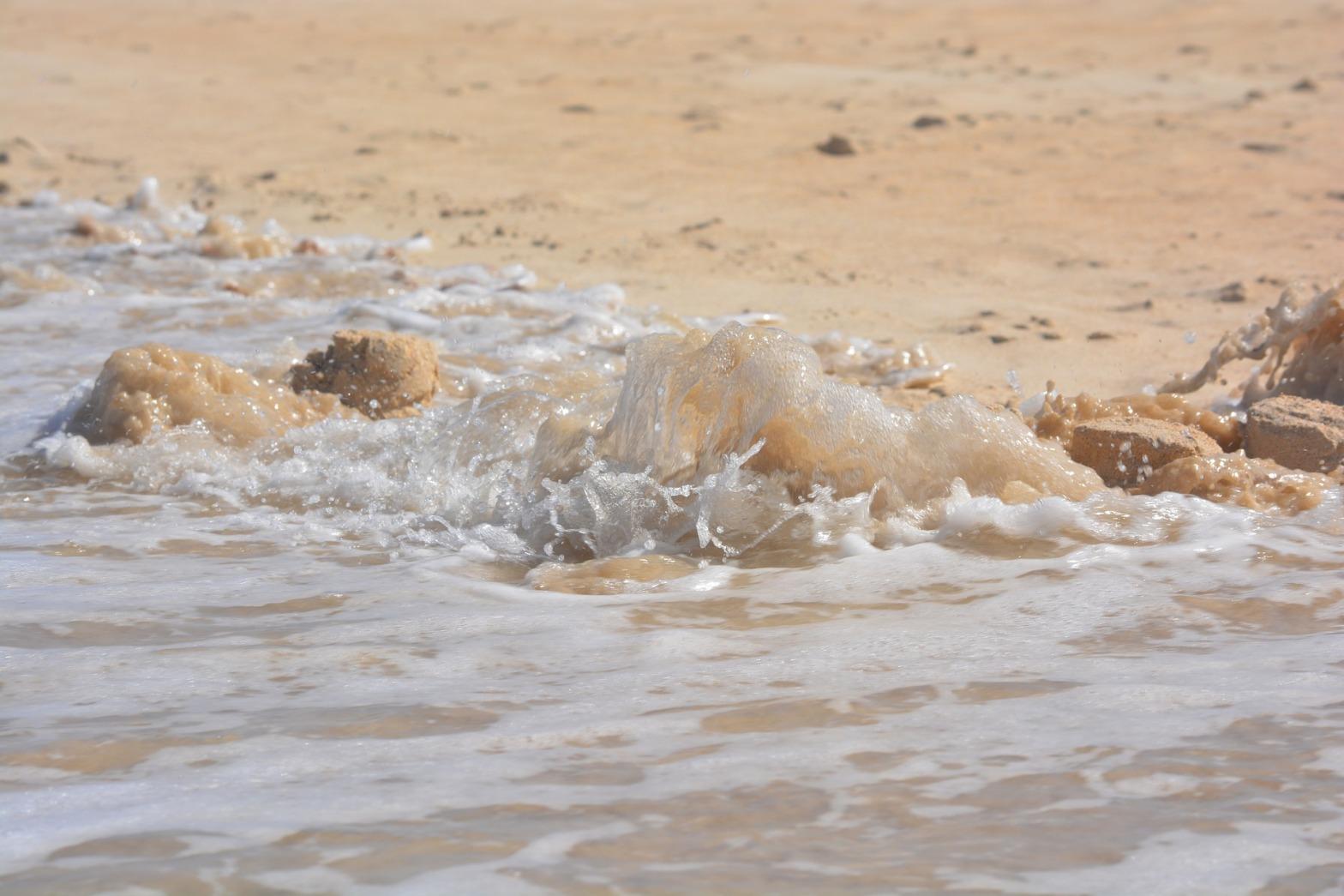 Eroding Sand Castle