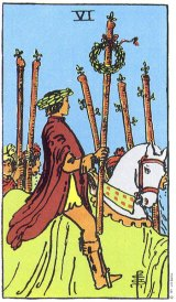 The Daily Draw: Six of Wands