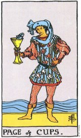The Daily Draw: The Page of Cups