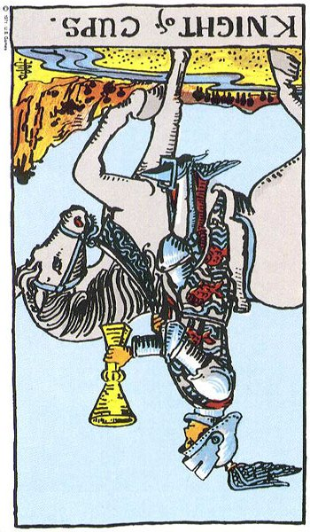 Knight of Cups Reversed
