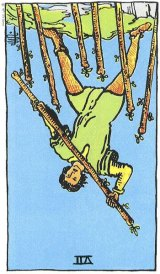 The Daily Draw: 7 of Wands Reversed