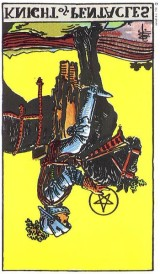 The Daily Draw: Knight of Pentacles, Reversed