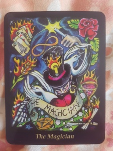 The Magician, Bonefire Tarot Deck